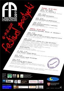 I Festiwal Plakat