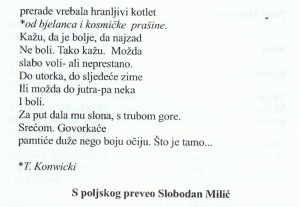 wiersze po serbsku 2