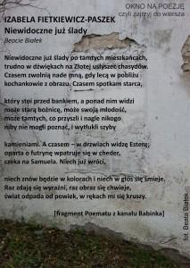 poemat z kanału fragment
